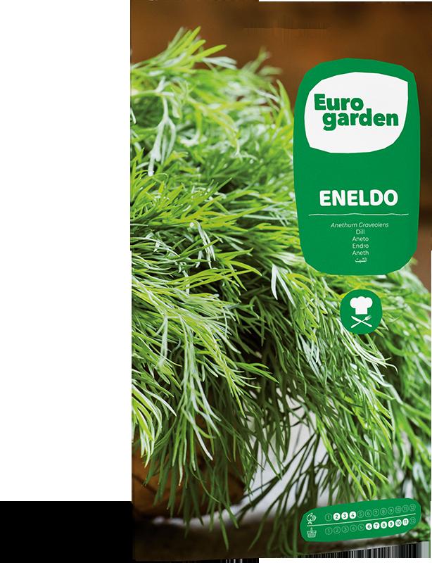 Mockup Sobre Eurogarden Aromáticas Eneldo