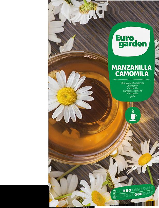 Mockup Sobre Eurogarden Aromáticas Manzanilla Camomila