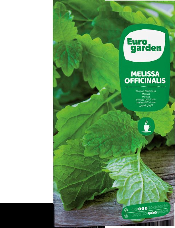 Mockup Sobre Eurogarden Aromáticas Melissa Officinalis