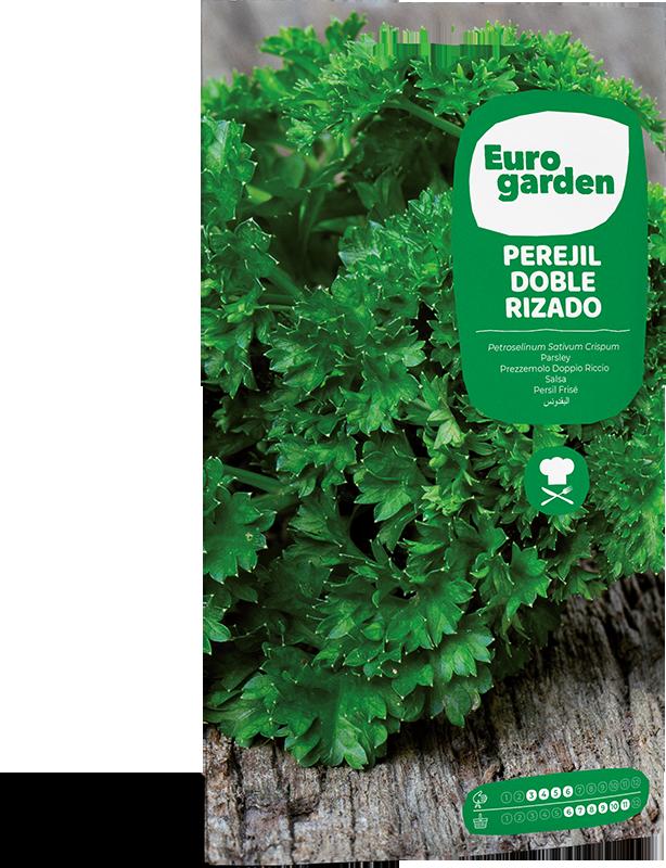 Mockup Sobre Eurogarden Aromáticas Perejil Doble Rizado