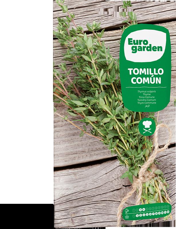 Mockup Sobre Eurogarden Aromáticas Tomillo Común