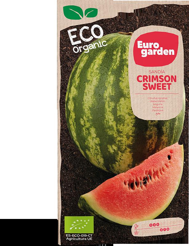 Mockup Sobre Individual Eurogarden ECO Sandía Crimson Sweet