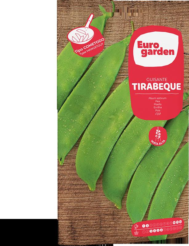 Mockup Sobre Individual Eurogarden Hortícolas Guisante Tirabeque