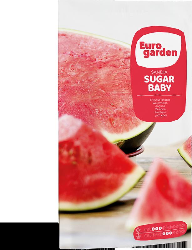 Mockup Sobre Individual Eurogarden Hortícolas Sandía Sugar Baby