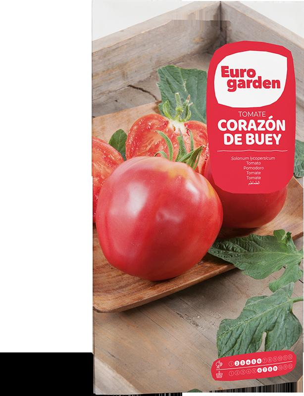 Mockup Sobre Individual Eurogarden Hortícolas Tomate Corazón de Buey