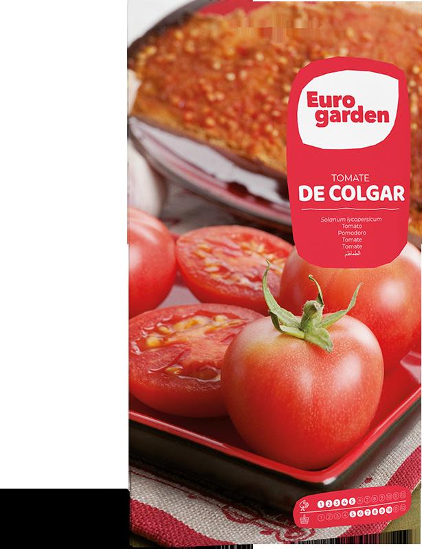 Mockup Sobre Individual Eurogarden Hortícolas Tomate de Colgar